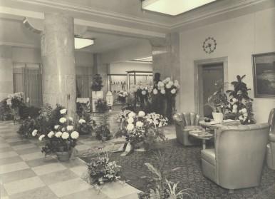 Bosch-Hauptzentrale in Stuttgart, Breidscheidstraße, 1961