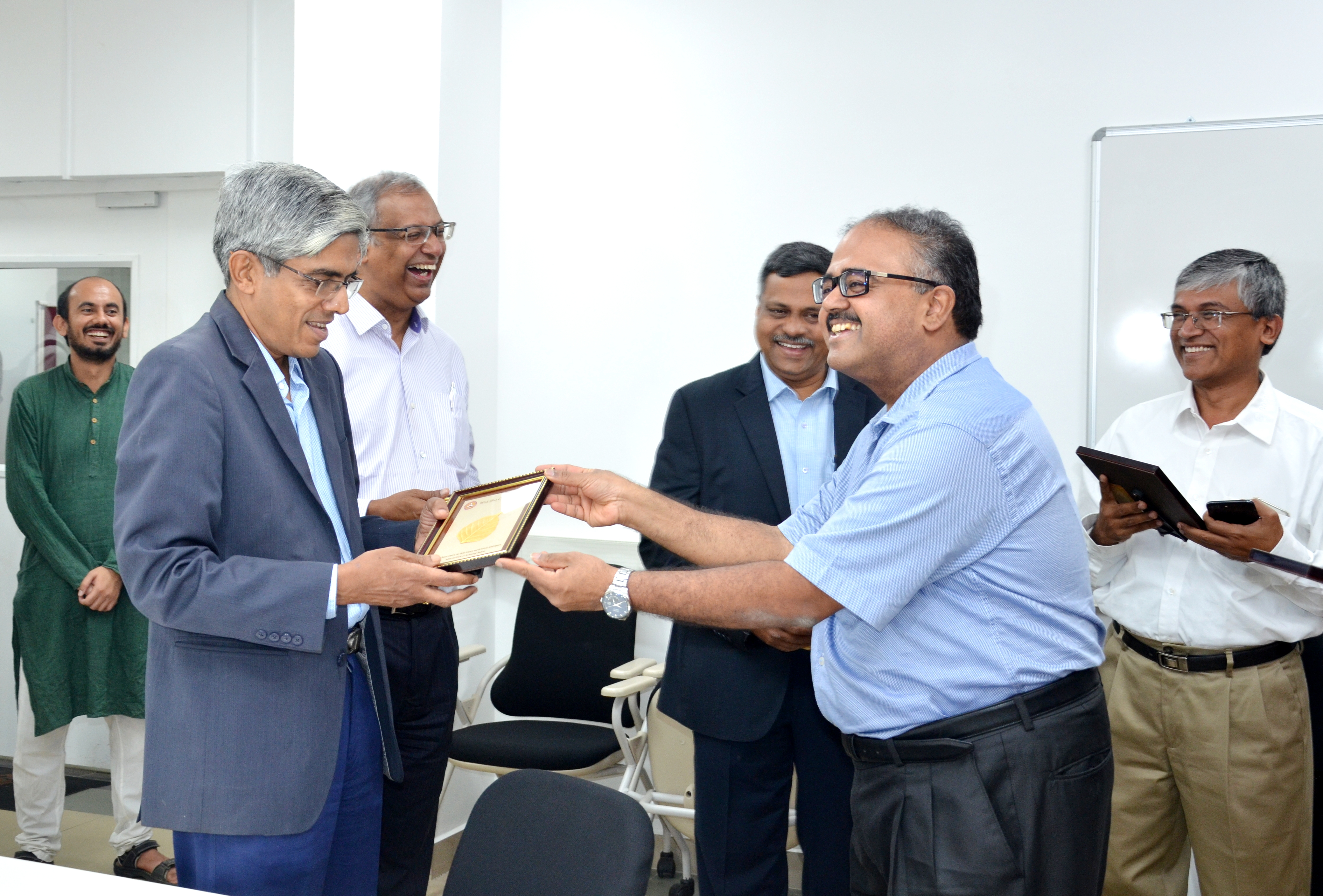 Inauguration ceremony of the Robert Bosch Center for data science and AI at the University of Madras