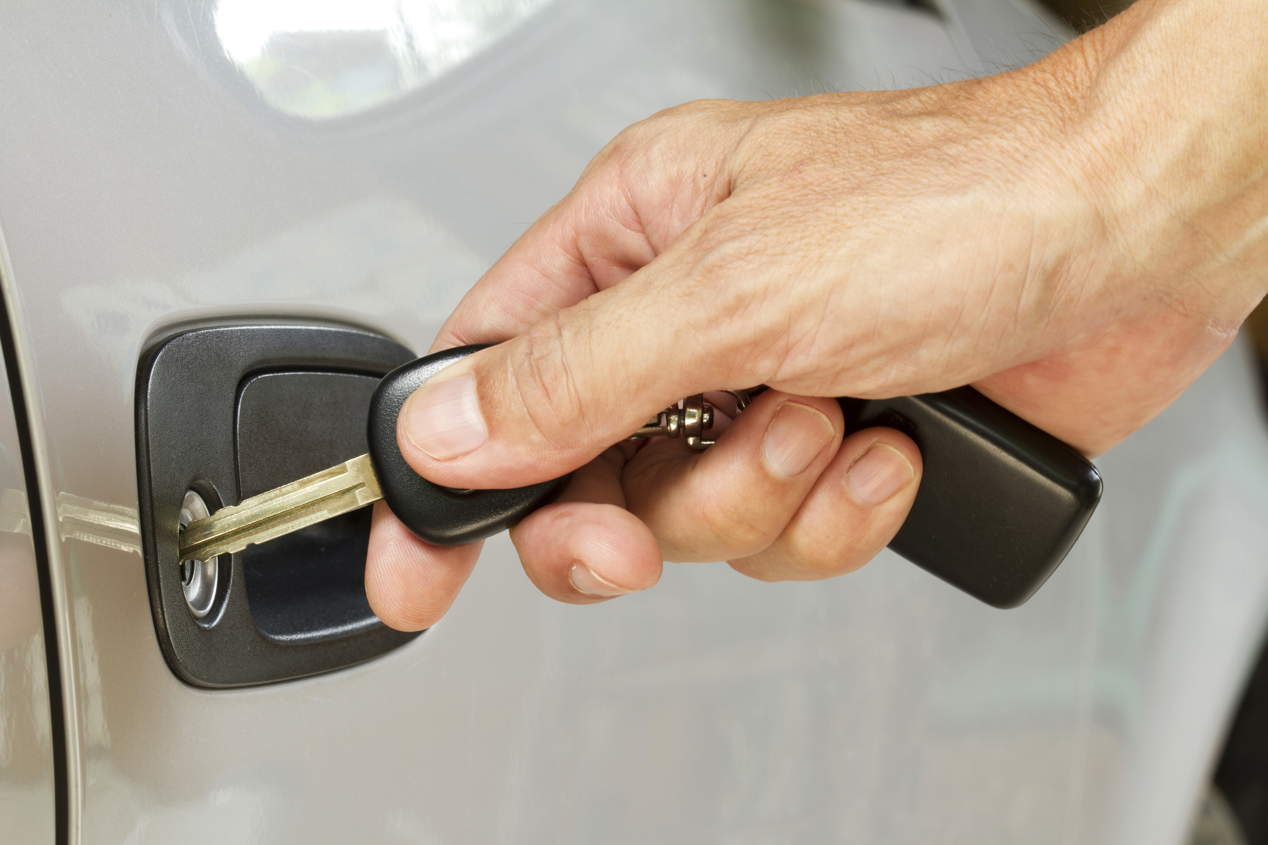 History of the car key