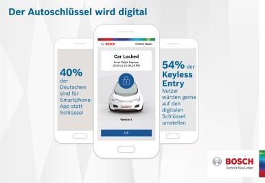 Bosch-Umfrage: Der Autoschlüssel nervt  drei Viertel der deutschen Autofahrer