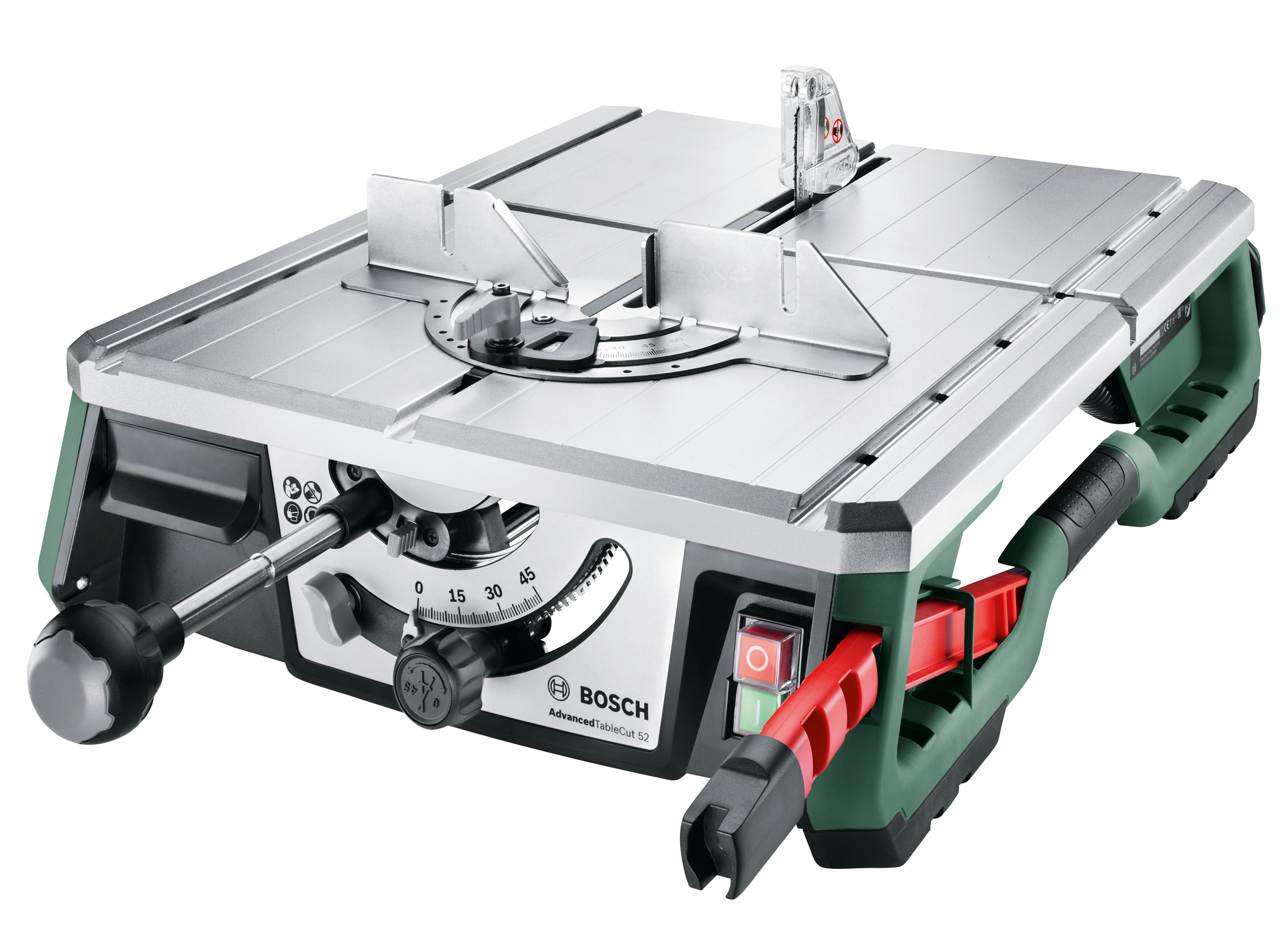 Lightweight and compact table saw for controlled sawing: AdvancedTableCut 52 from Bosch for DIY enthusiasts