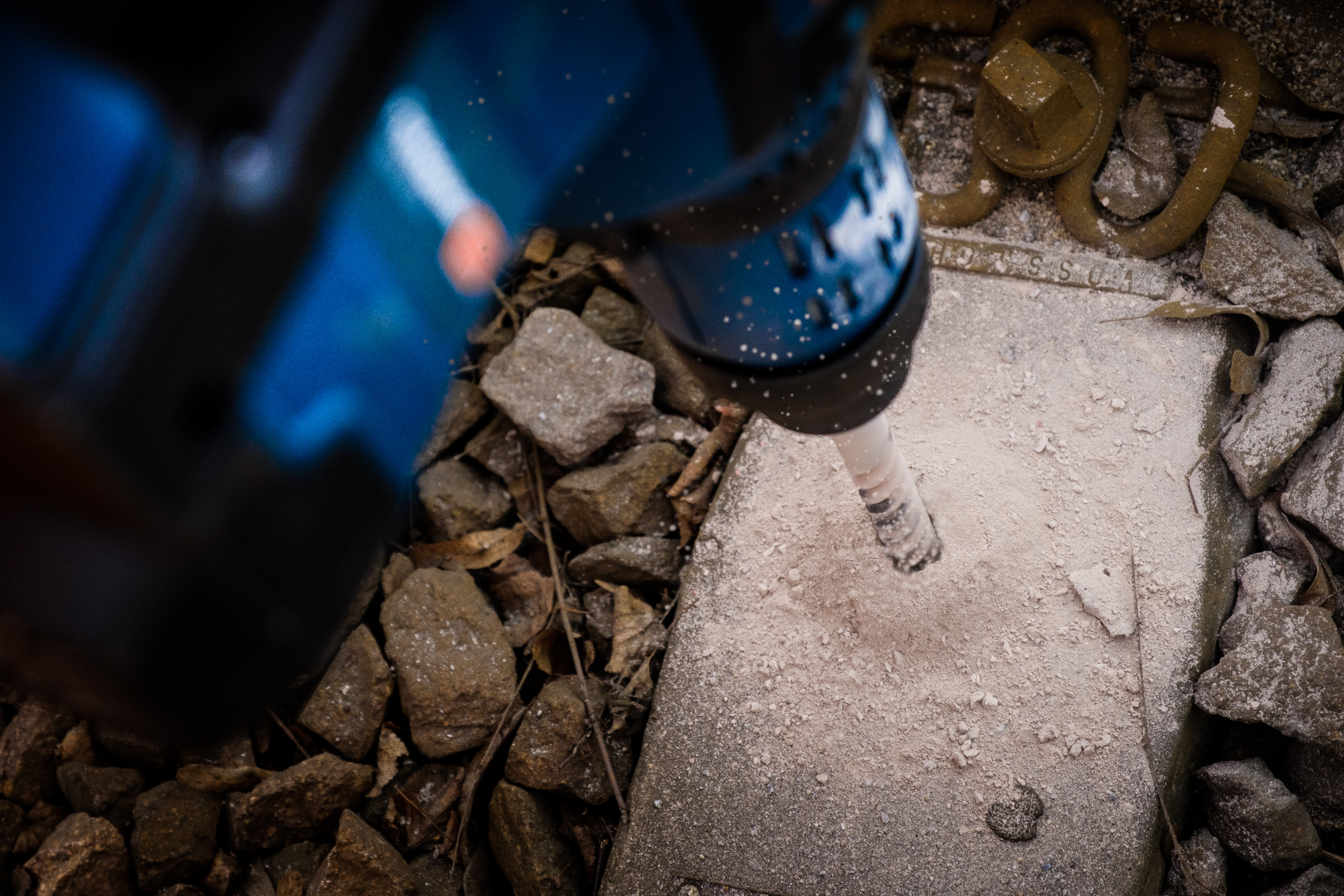 Achieving goals faster with reliable tools: Bosch SDS max-8X four-cutter hammer drill