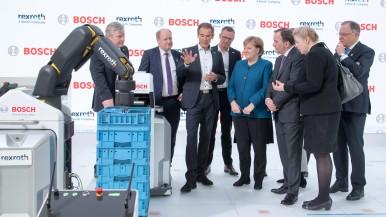 Bosch erzielt Milliardenumsatz mit Industrie 4.0