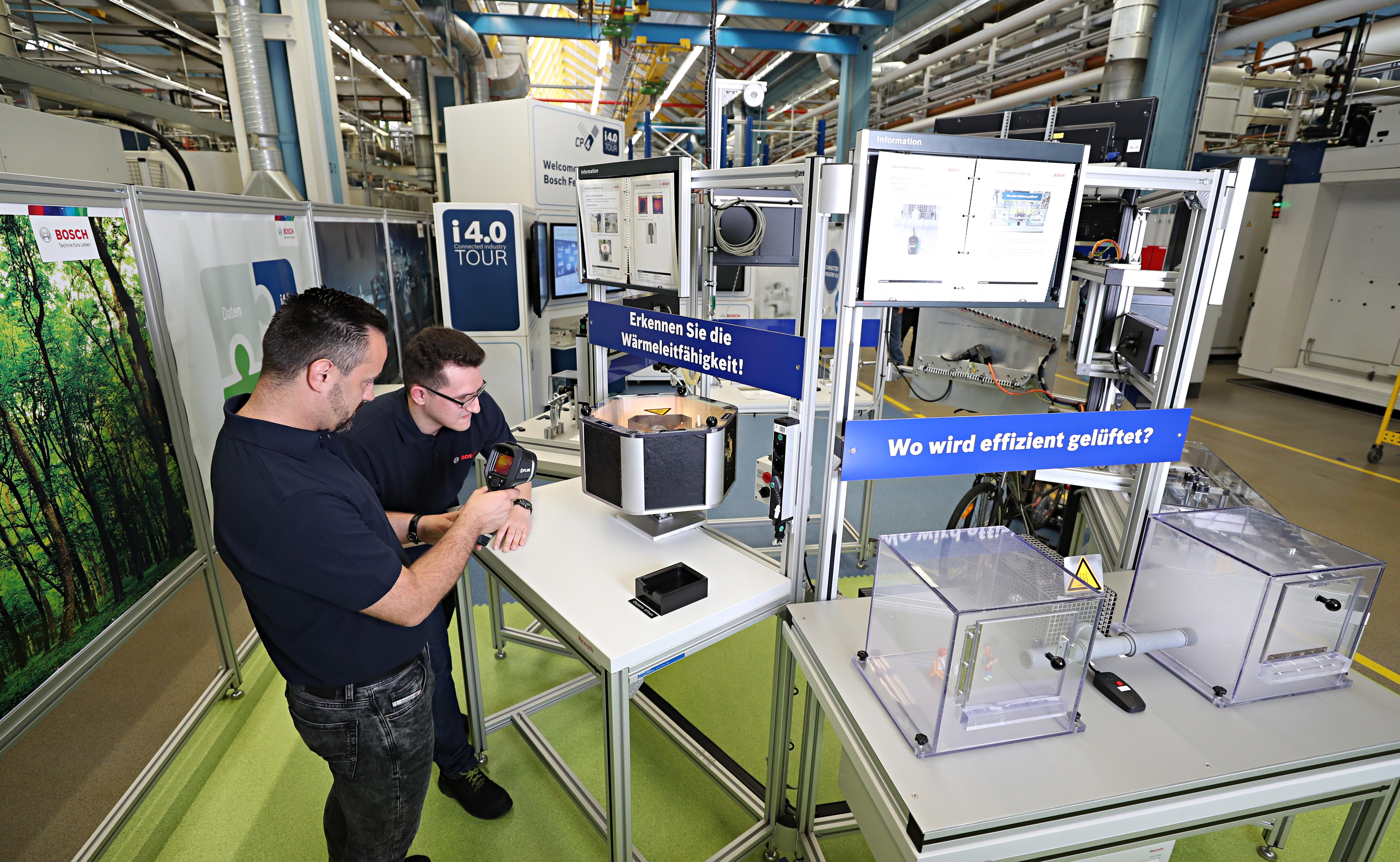 Energieerlebniswelt im Bosch-Werk Feuerbach