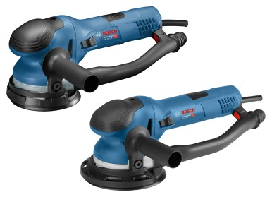 Ergonomically optimized for best possible control: New Bosch direct driven random orbit sanders for pros