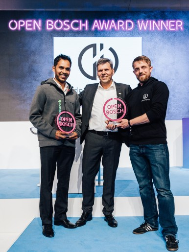 Open Bosch Award 2019 - Winner Code Intelligence