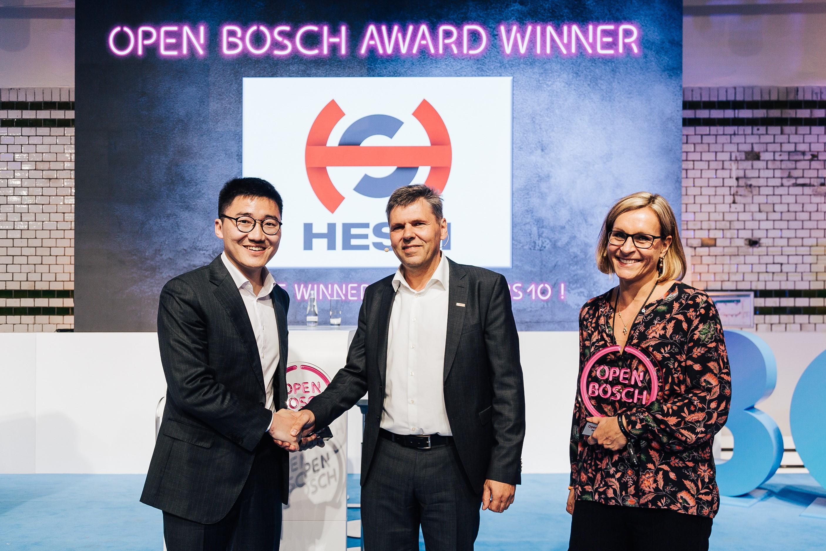 Open Bosch Award 2019 - Winner Hesai Photonics Technology