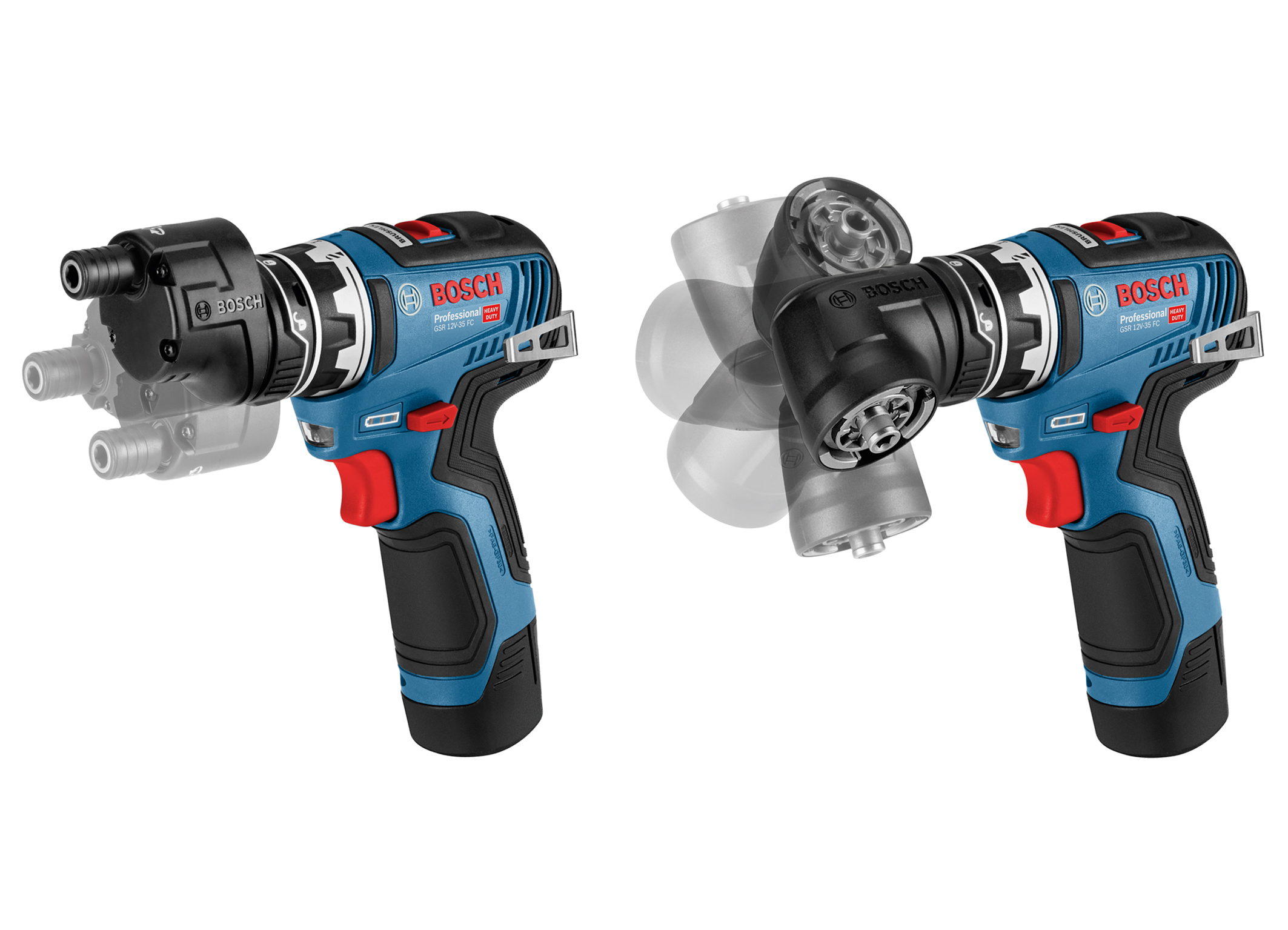 The new GSR 12V-35 FC Professional cordless drill/driver: The most compact and versatile drill/driver system