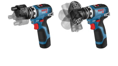 More powerful than ever before:  Bosch FlexiClick 12 V – now with a brushless motor