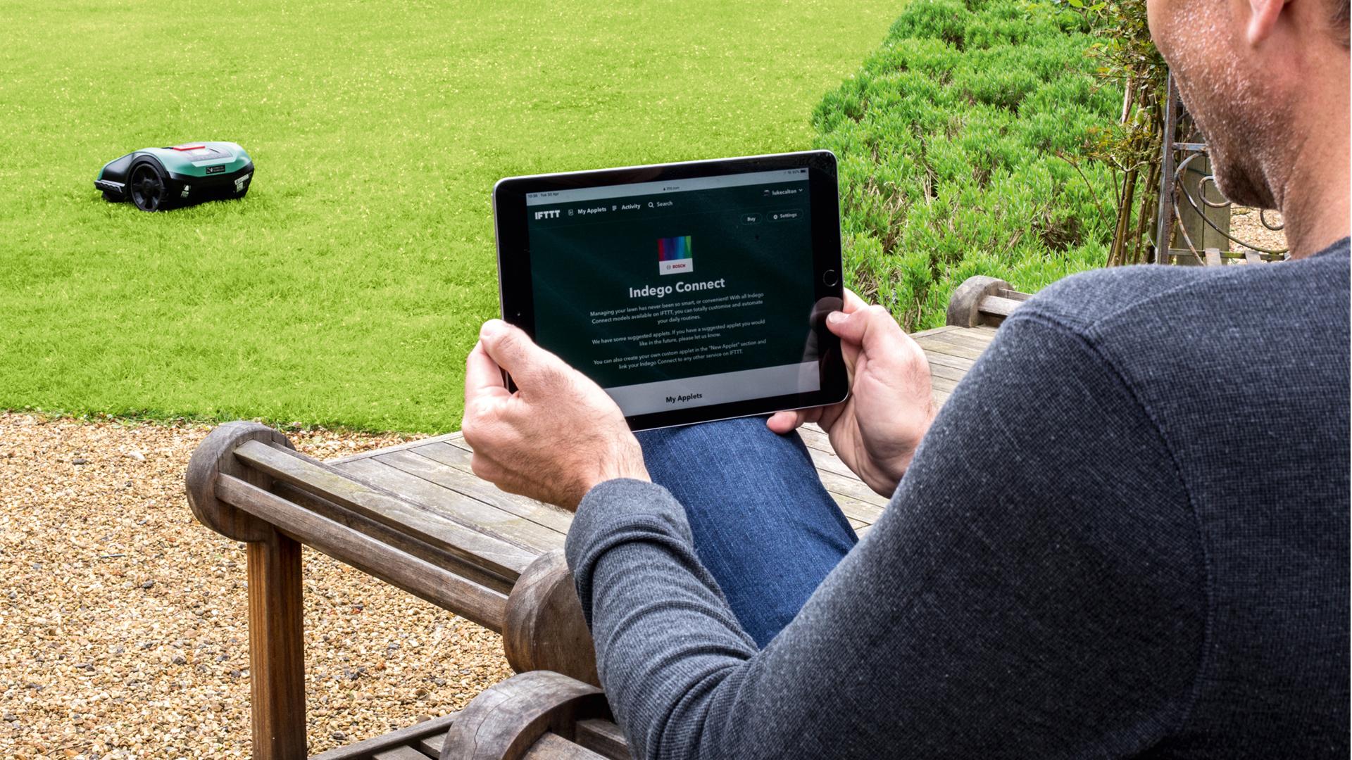 Bosch makes autonomous lawn care even smarter: Indego S+ robotic