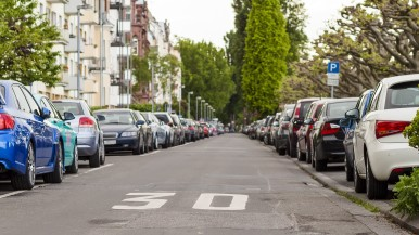 Better parking thanks to parking space sensors