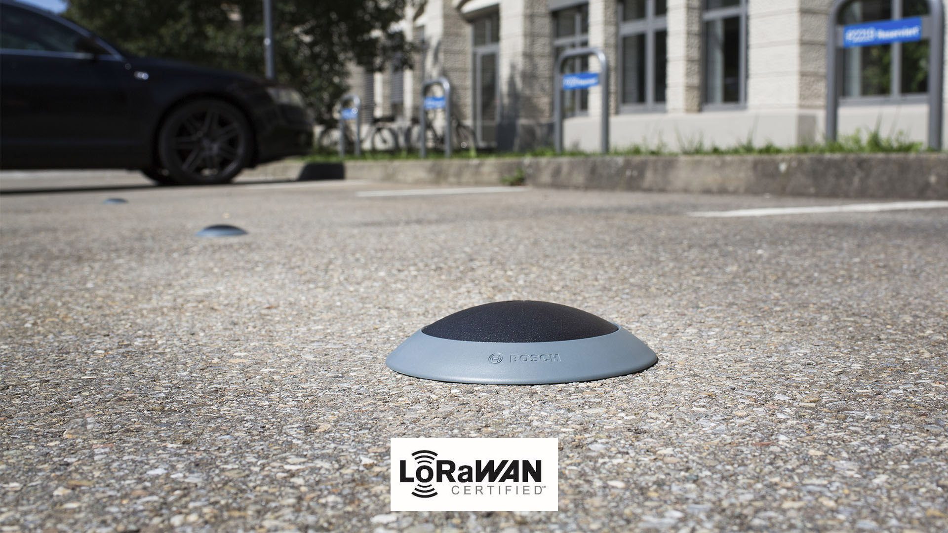 LoRaWAN certified Parking Lot Sensor from Bosch