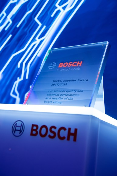 16. Bosch Global Supplier Award