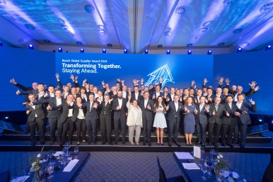 Awards for the best suppliers worldwide