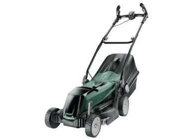 Leistungsstark und besonders platzsparend:  Bosch Akku-Rasenmäher EasyRotak 36-550 mit 36 Volt
