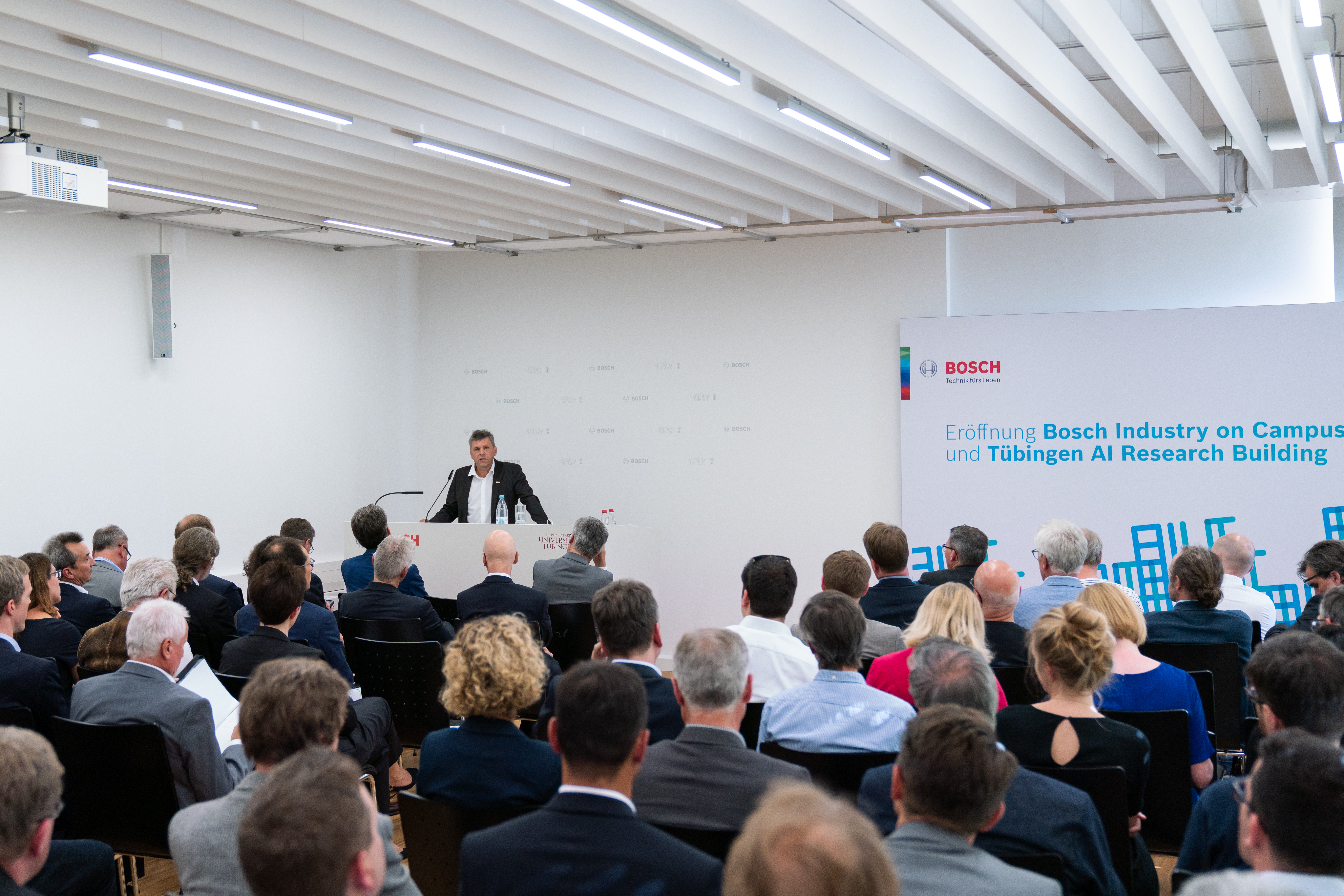 """""""The planned AI campus will help turn the region into one of the world's leading centers for the research and application of artificial intelligence."""" Dr. Michael Bolle (CDO/CTO, Robert Bosch GmbH)."""