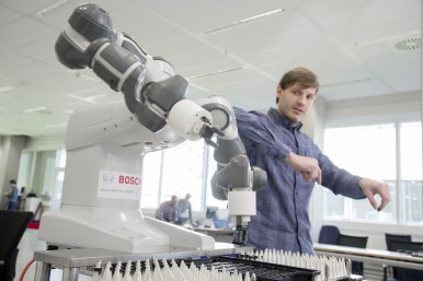 With the help of artificial intelligence, Bosch wants to turn things into intelligent partners.