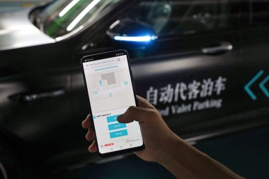 Automated Valet Parking in China