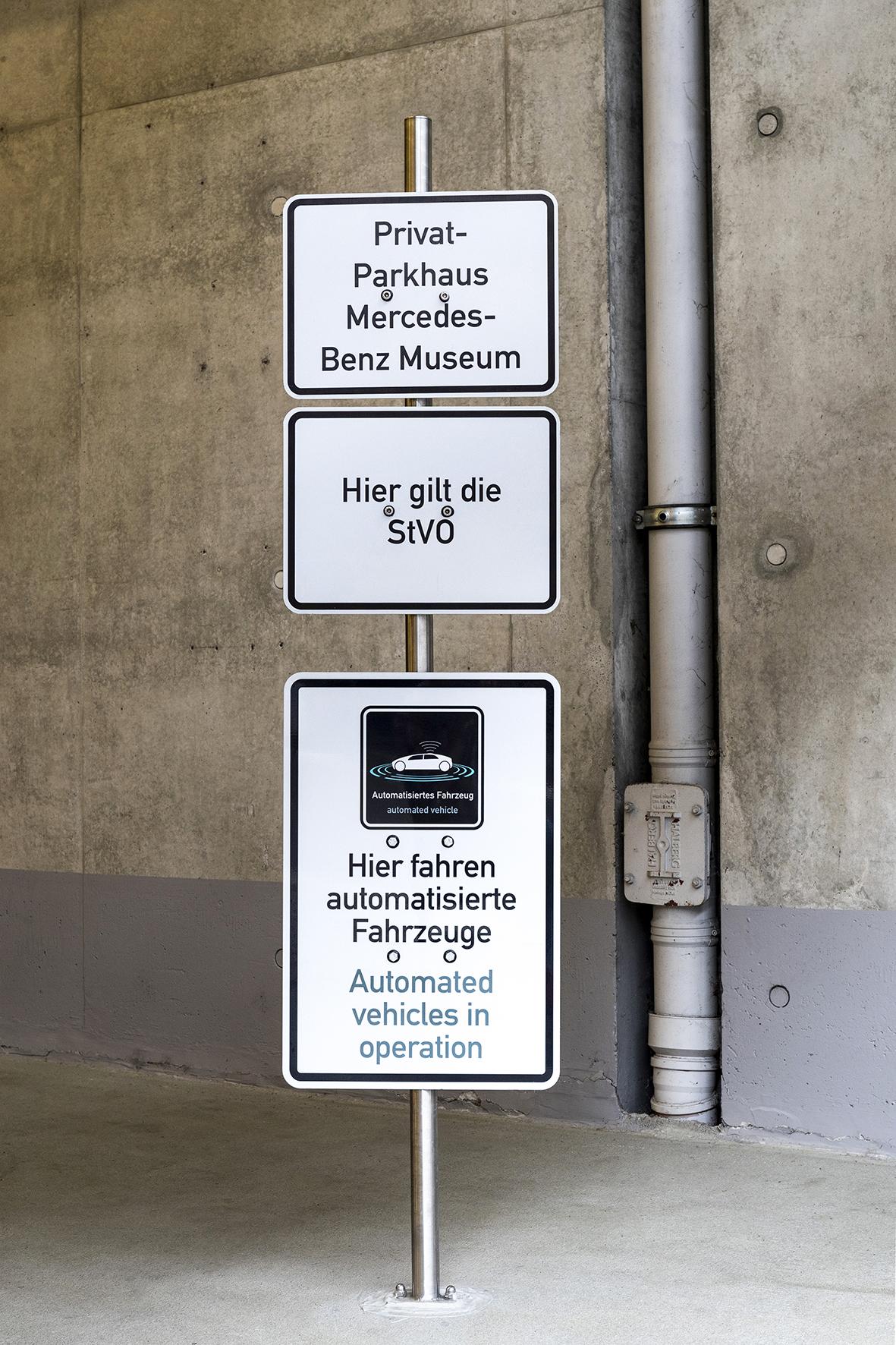 Das Parkhaus der Zukunft mit Automated Valet Parking