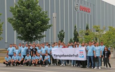1. Bosch Car Service Azubi Event mit über  70 Teilnehmern am Bosch Standort Karlsruhe