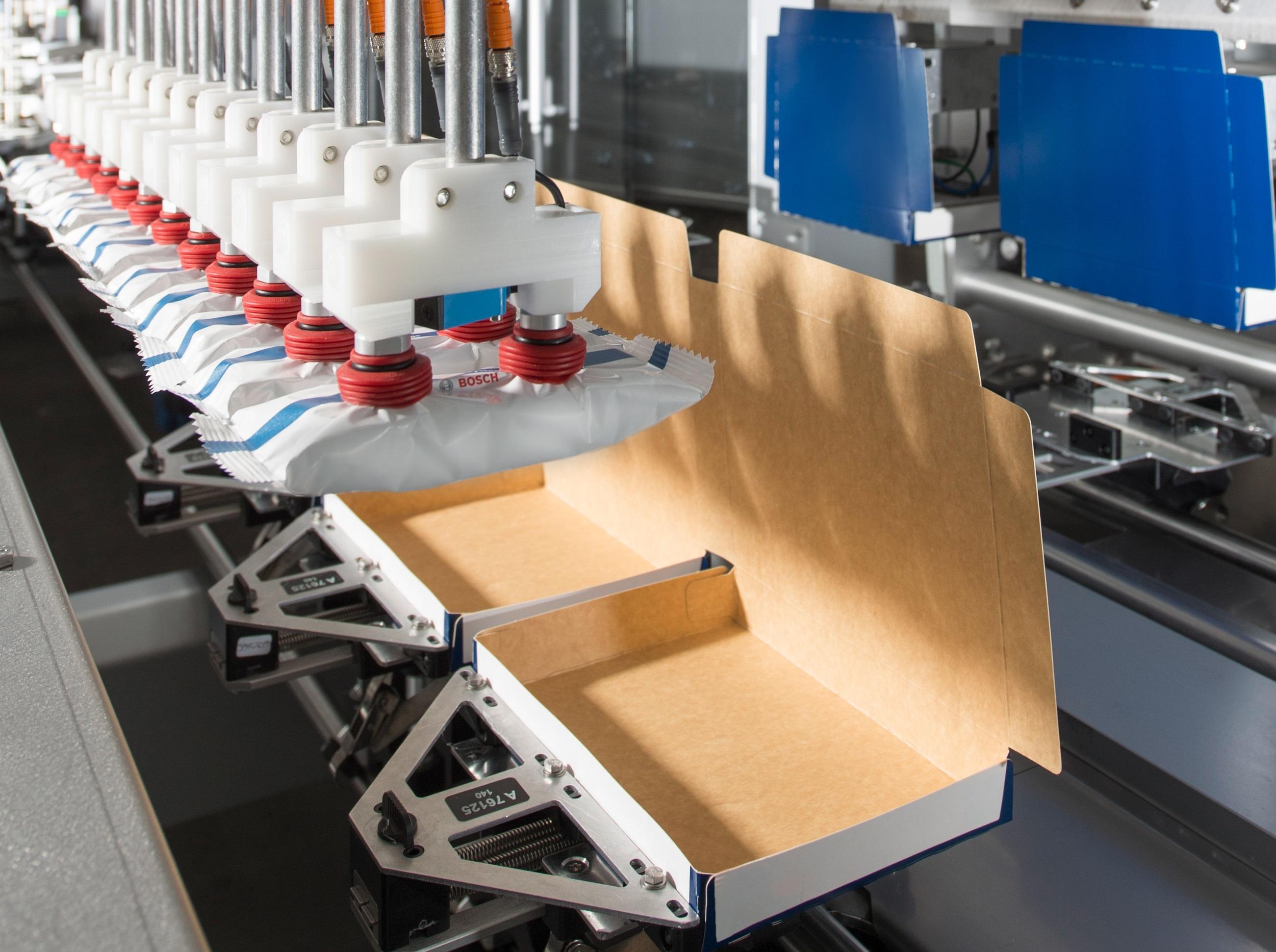 Bosch plant, das Geschäft mit Verpackungsmaschinen an eine neu gegründete Gesellschaft, die von CVC Capital Partners (CVC) verwaltet wird, zu verkaufen.