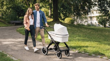 From the wind tunnel to the sidewalk: Bosch is bringing smart electrical drives to strollers