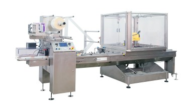 Bosch introduces entry-level Pack 102 flow wrapper with robotic integration at IBIE