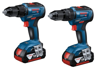Higher efficiency in the entry-level segment: New 18 V cordless screwdrivers from Bosch for pros