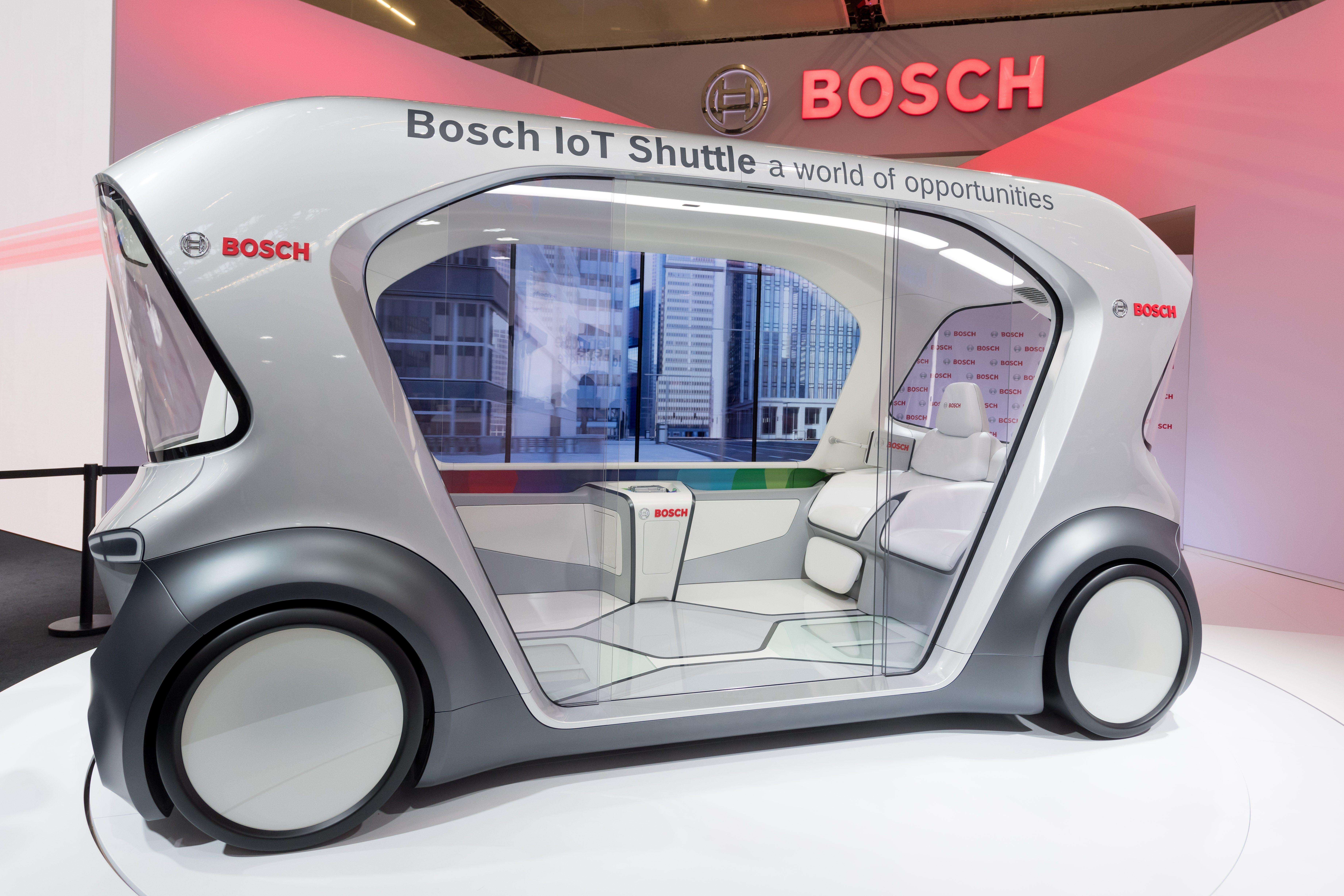 Bosch IoT-Shuttle at IAA 2019