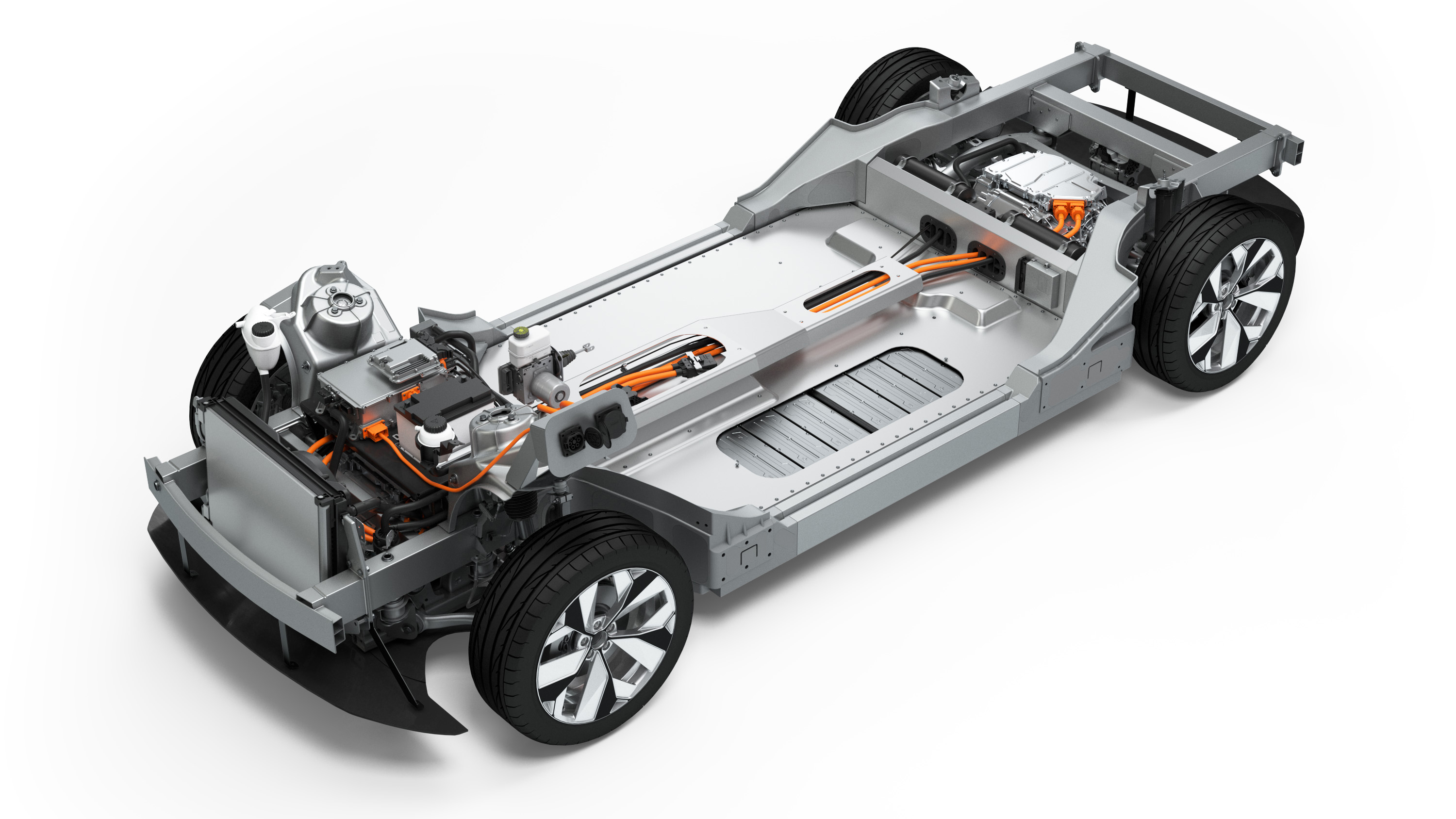 Rolling chassis: electromobility platform: