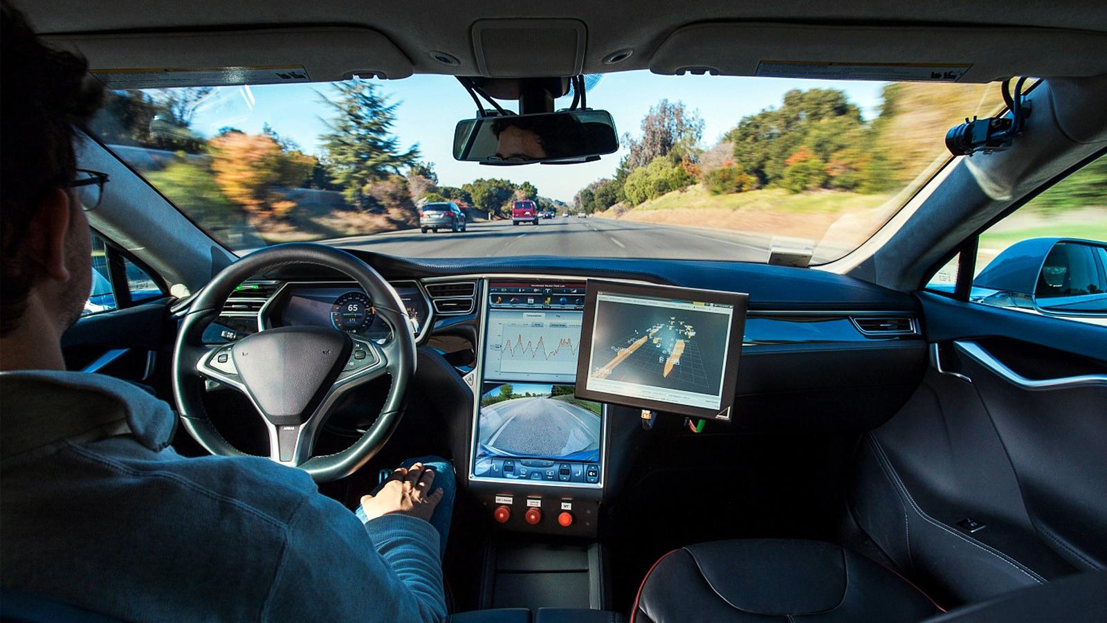 Vorn auf dem Weg zum automatisierten Fahren