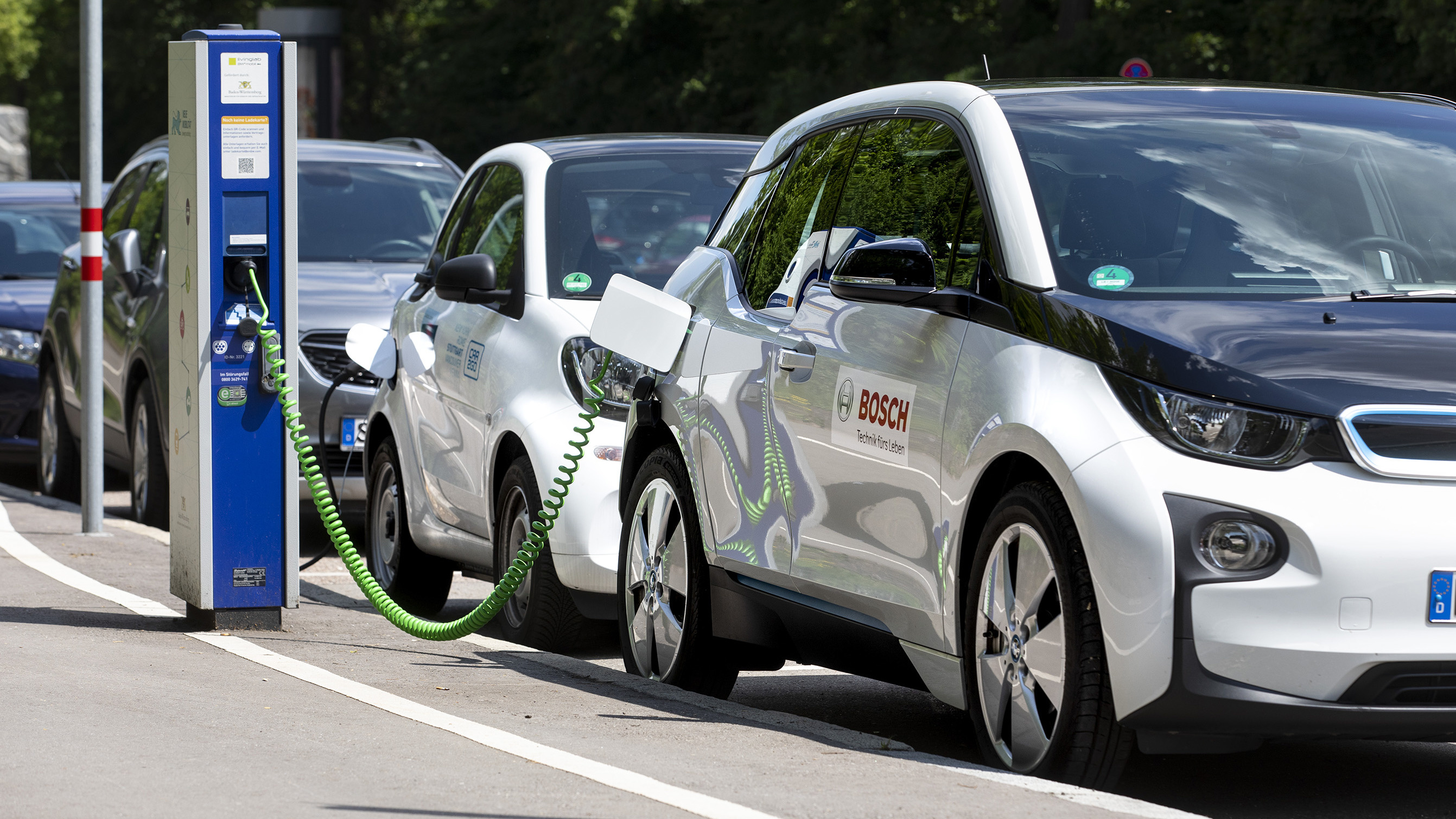 When it comes to electromobility, Bosch is driving in the fast lane