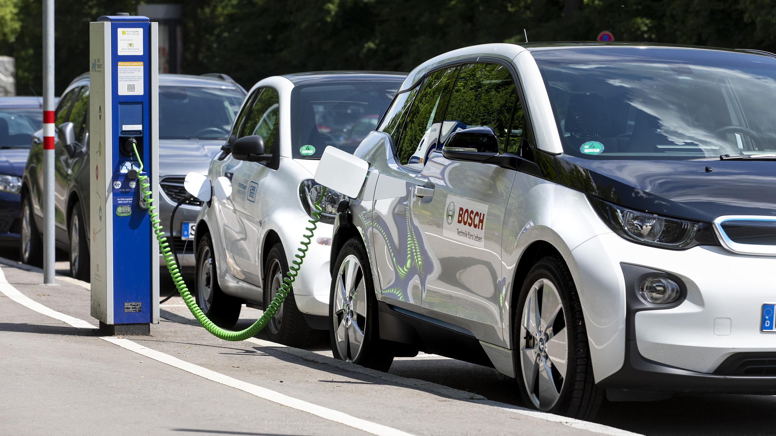 Bosch fährt bei der Elektromobilität auf der Überholspur