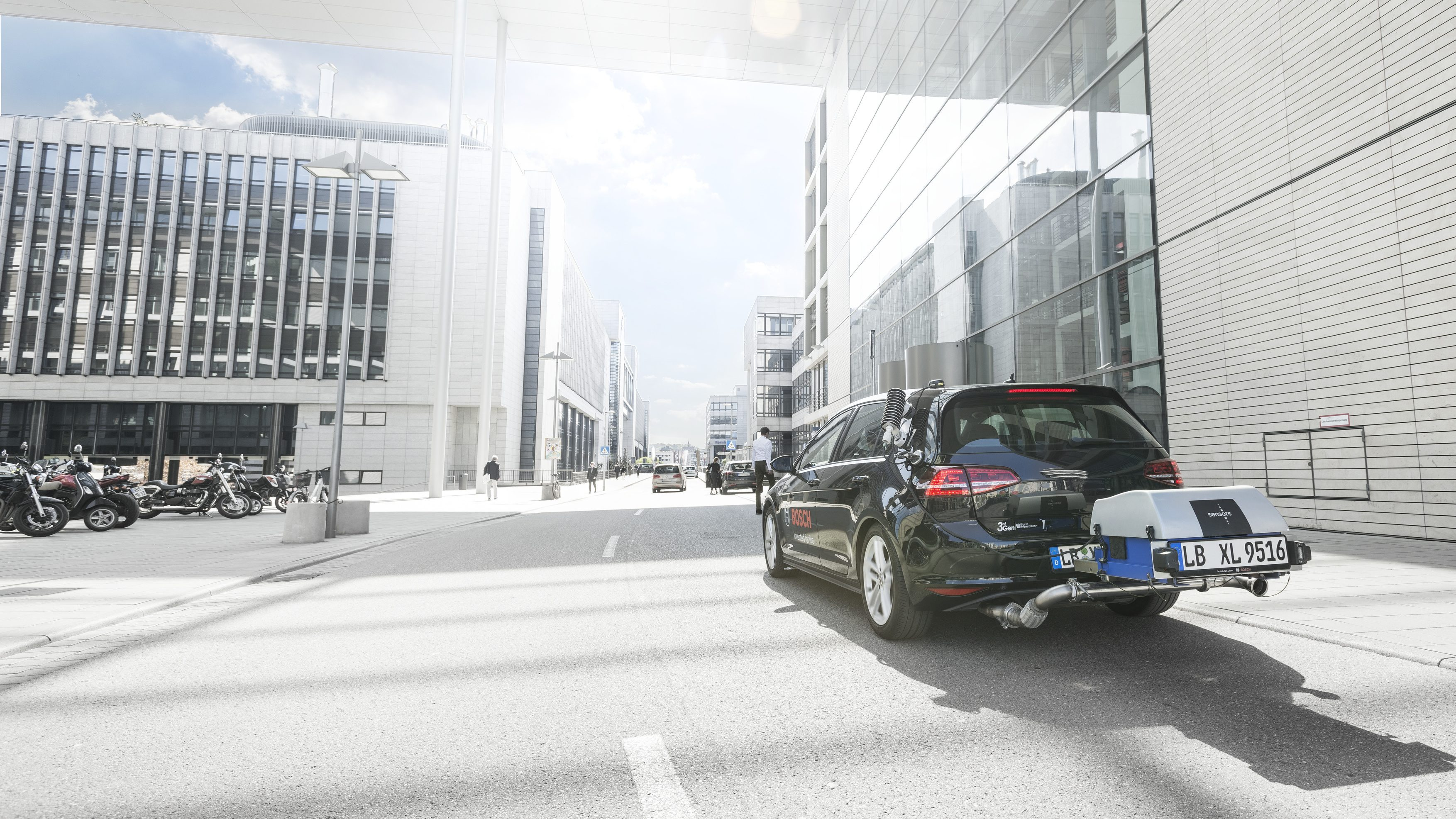 Bosch is making the gasoline engine more  efficient