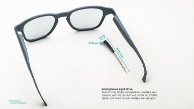 Miniatur-Lösung ermöglicht stylisches Smartglasses Design