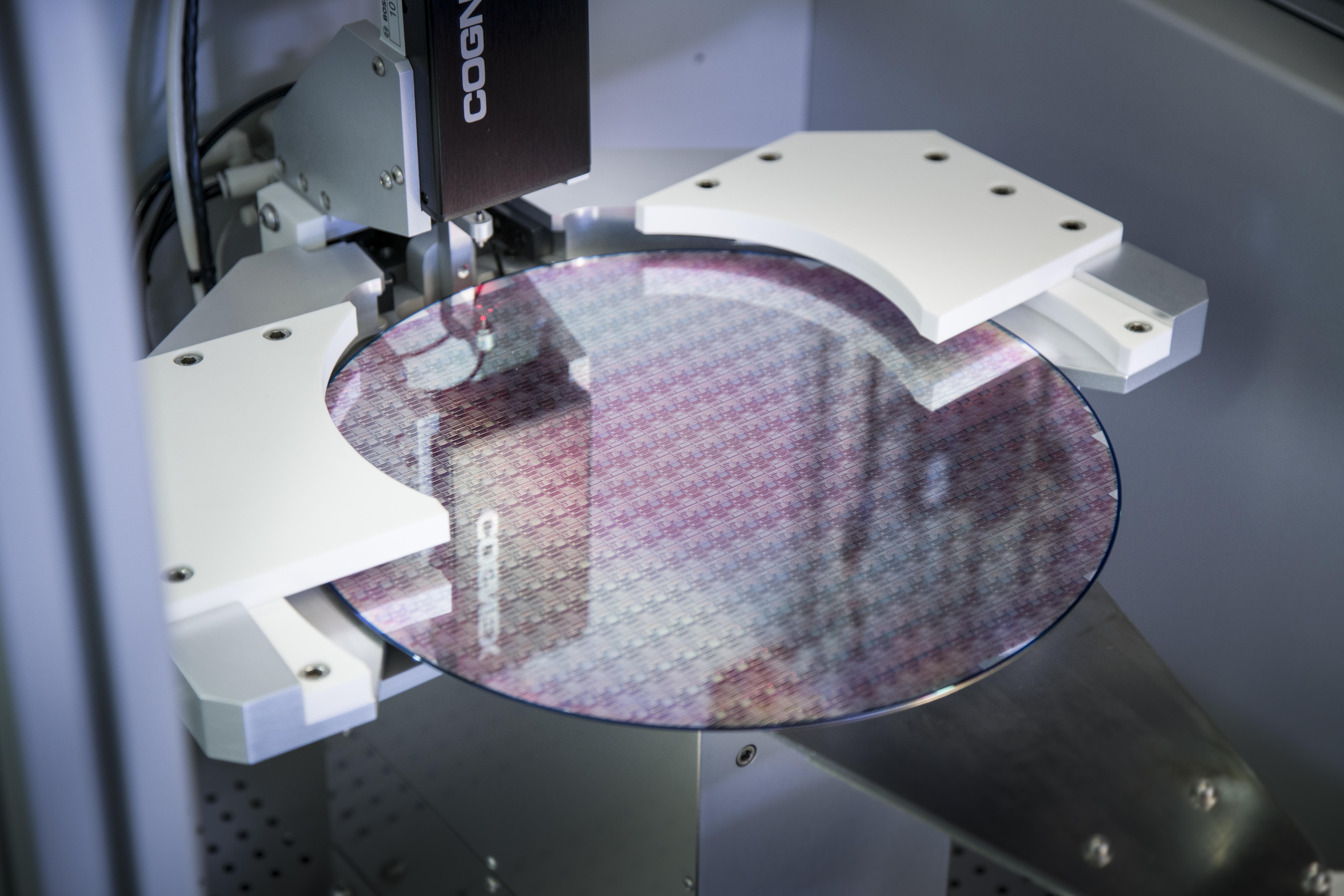 Halbleiterfertigung in 300-Millimeter-Technologie