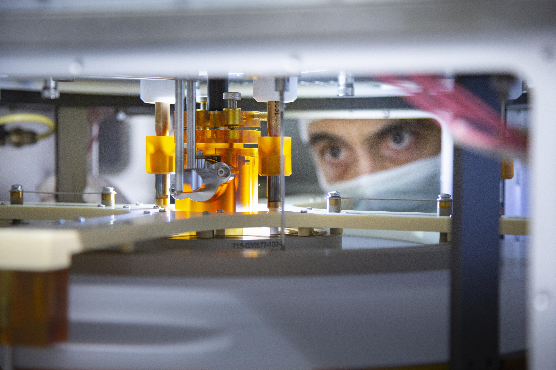 Halbleiterfertigung in der 300-Millimeter-Technologie
