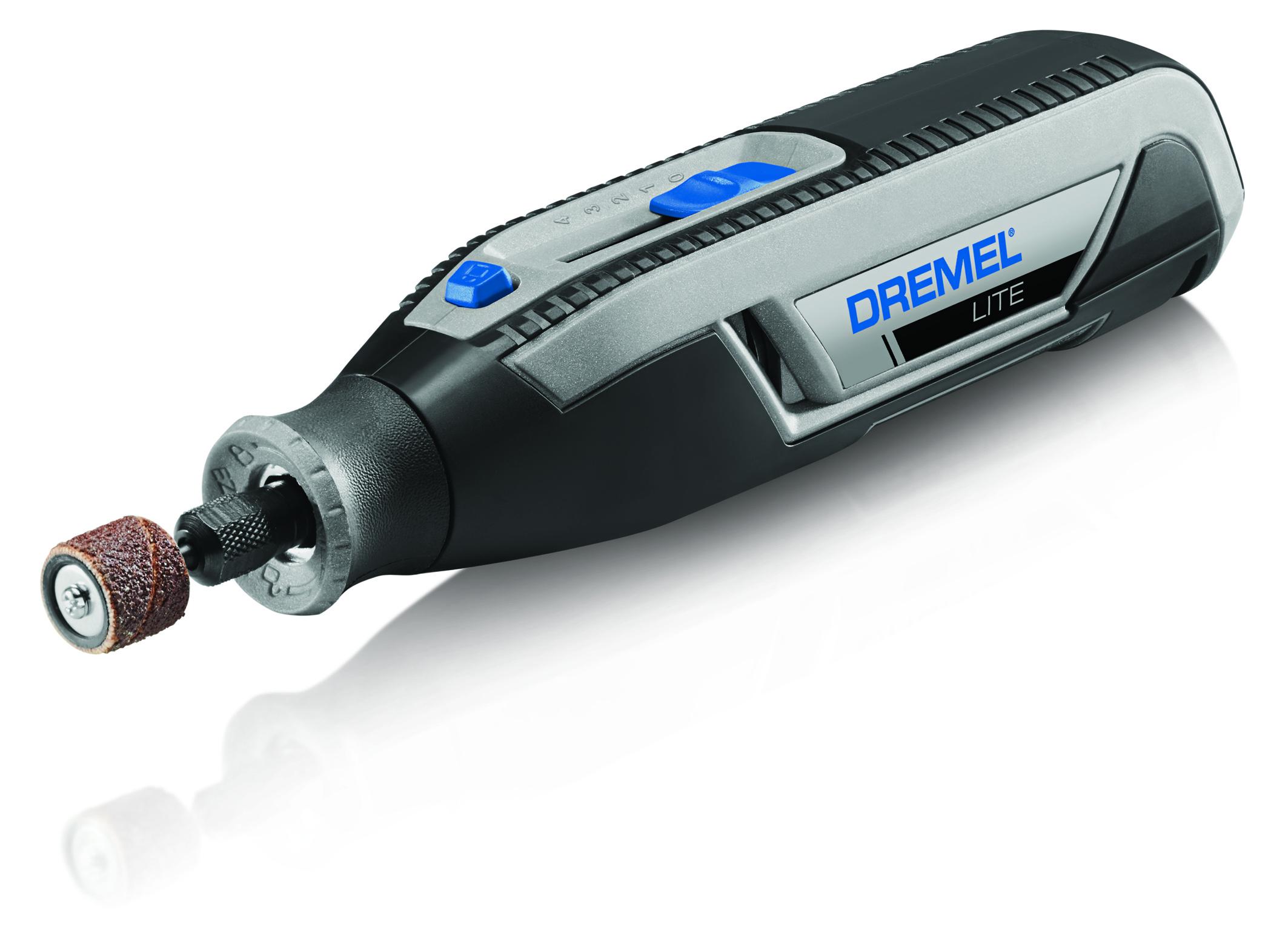 Better ergonomics based on user feedback: The cordless Dremel lite for controlled work