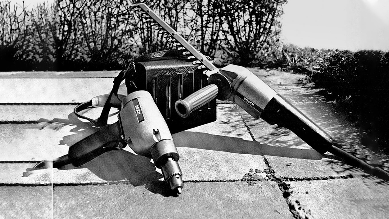 First cordless power tools as early as 1969