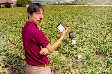 Farm #LikeABosch: connected sensor systems in potato cultivation