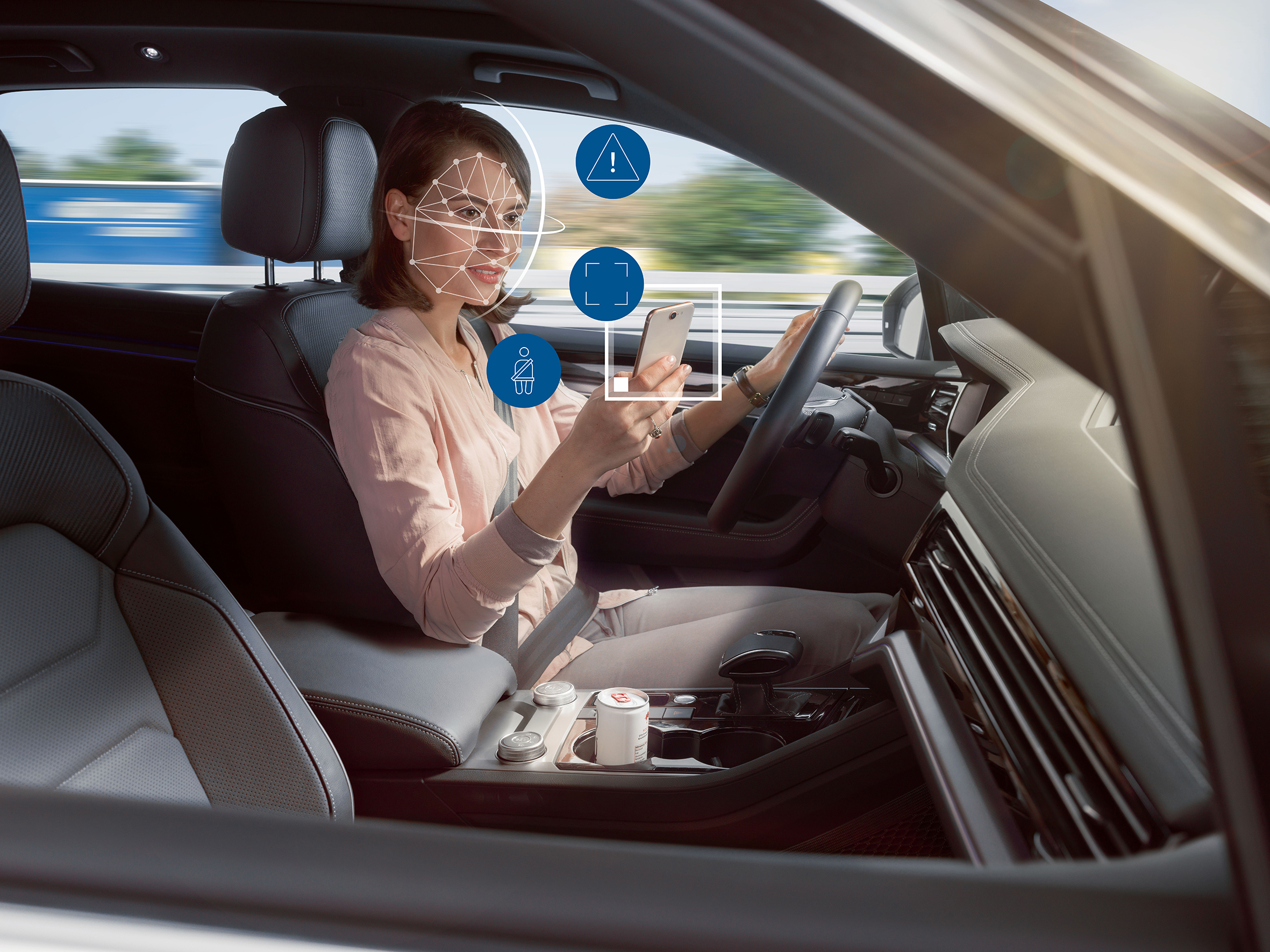 Bosch helps cars keep an eye on their passengers