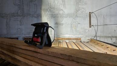 Weltweit der hellste mit 18 Volt und Connectivity: Neuer Akku-Baustrahler von Bosch für Profis