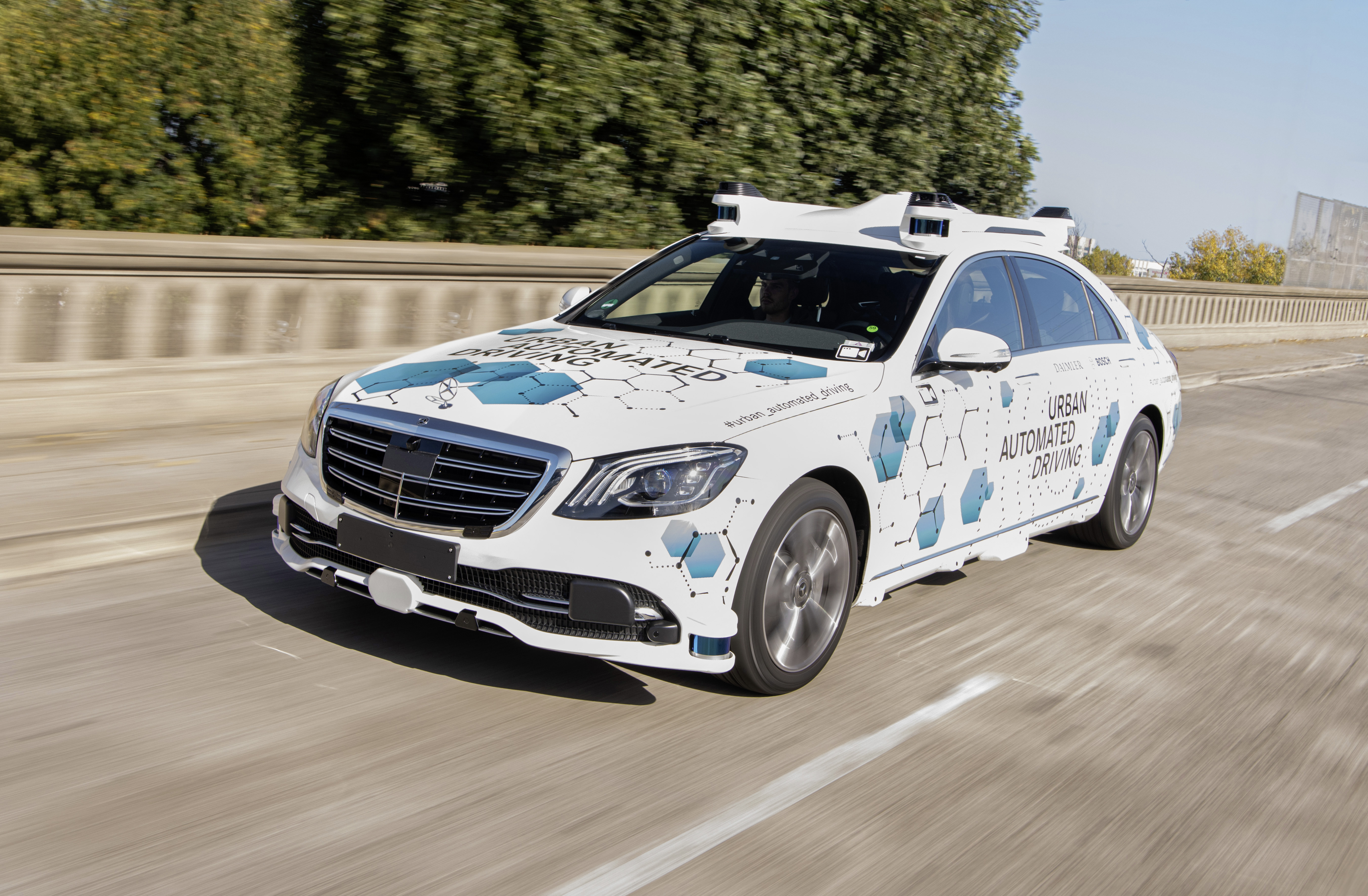 Automated driving in city traffic