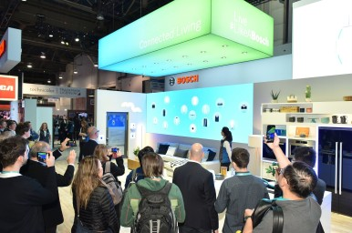 Bosch booth at CES 2020
