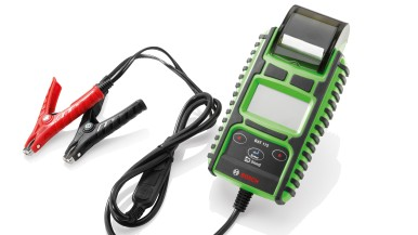 New and fast Bosch BAT 115 battery tester for both 6 and 12 volt starter batteries