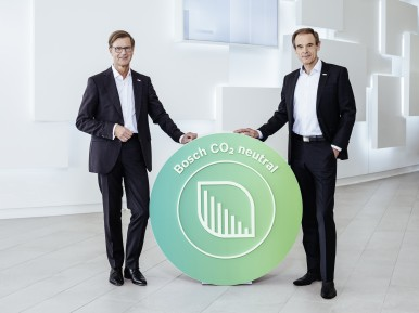 Climate action: Bosch has been carbon neutral in Germany since 2019