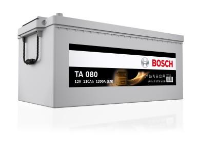 Neue besonders leistungsstarke Bosch-Batterie für Nkw: 12 Volt-Starterbatterie TA AGM