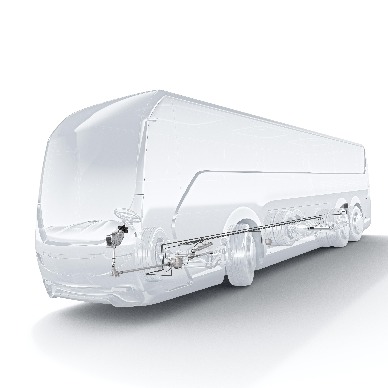 144 neue Sachnummern: Speziell auf das jeweilige Fahrzeugmodell abgestimmte Lenksysteme und Anbauteile für Nutzfahrzeuge