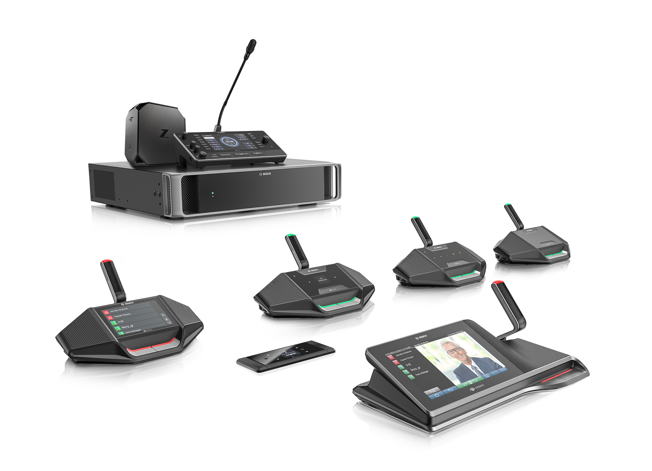Bosch extends interpretation product lineup in its IP-based conference system portfolio