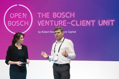 "Bosch CDO and CTO Dr. Michael Bolle: ""Collaboration between Bosch and startup companies is a win-win situation for everyone involved"""